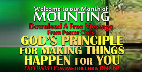 Download God's principle for making things happen for you